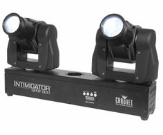 Chauvet Intimidator Spot Duo Stage Light - $559  Moving lights for dramas, worship concerts, etc. Our light design crew would LOVE learning to work with these.