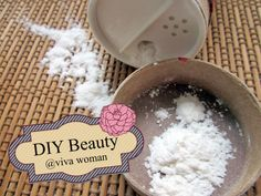 DIY Beauty: dry shampoo with arrowroot powder