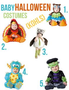baby halloween costumes from kohls
