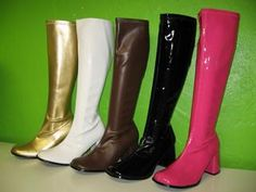 Go go boots! I had the white ones!