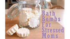 Homemade Bath Bombs For Stressed Moms