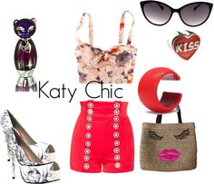 Katy Perry Chic, created by annmarie1616 on Polyvore