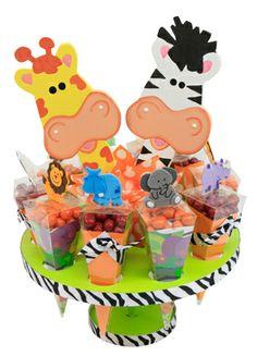 Decoración para barra de dulces. Fiestas infantiles