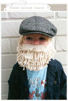 Three second beard