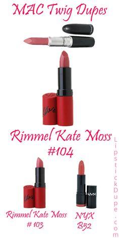 MAC Twig Lipstick Dupes! - Lipstick Dupe Lipstick Dupe