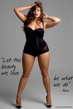 Plus size model Jennifer Maitland - Plusmodelmag Oct 2011