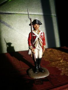 hand painted british soldier by my beau ($16)