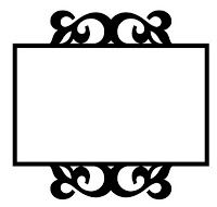 The Free SVG Blog: Cute little frame - Free SVG Frame