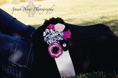 @Cher Houston of Speak Now Photography (maternity sash by Tawni Smith)