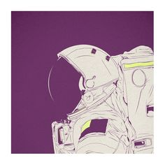 Violet Minds // Solo Exhibition by Cranio Dsgn, via Behance