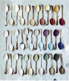 Pinted Spoons