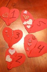 Valentines activities for children