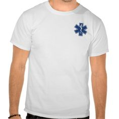 EMS Star of Life Shirts Tee Shirts