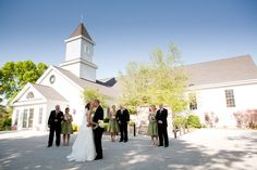 Real Door County Spring Wedding. Location: Sister Bay Moravian Church. Photography by Jason Mann Photography. www.doorcountybride.com