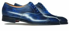 paul smith x john lobb Westbourne Lapis Blue 03