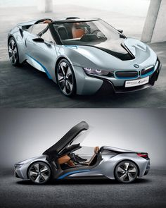 Beautifully designed BMW i8 BMW Concept Spyder
