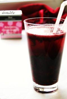 Mrożona herbata czereśniowo - różano – waniliowa