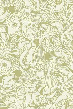 Bird Flurry ~ Pattern Wall Tiles