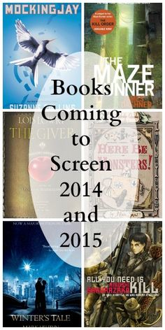 Must-Read Books Hitting the Screen in 2014 and 2015!