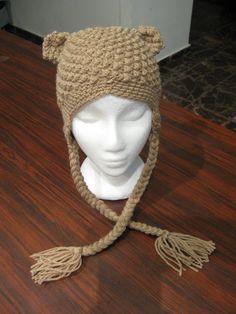 Bumpy Bear Beanie - Meladora's Free Crochet Patterns & Tutorials
