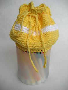 Crochet Pattern - Recycled Plastic Bottle Bag
