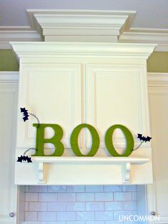 """BOO""tiful Yarn Wrapped Letters... 