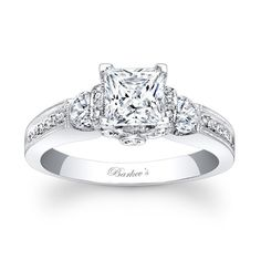 Princess Cut Engagement Ring: The traditional is the engagement ring, but there can be an engagement necklace or another item of your choosing.
