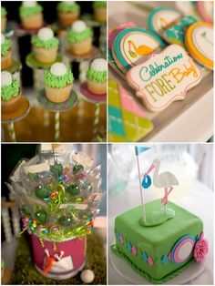 Golf Themed Baby Shower Treats and Favors