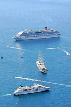 Cruise Ships in Dubrovnic, Croatia.