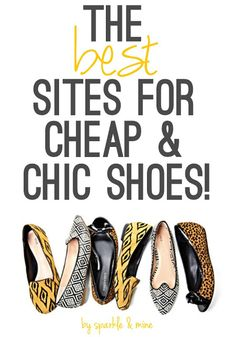 The BEST sites for cheap trendy shoes! Oh my gosh, this post has so many amazing stores I've never heard of with crazy good prices! Must pin for all the girls out there with high-end taste and a broke girl budget!!
