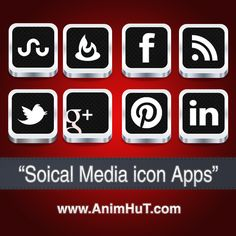 Download 2012 Social Media New Icon Apps