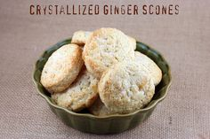 Crystallized Ginger Scones - Williams Sonoma by Food Librarian