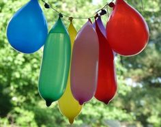 Water Balloon Piñata - I'm not waiting for a party! This will be fun everyday in the summer heat!