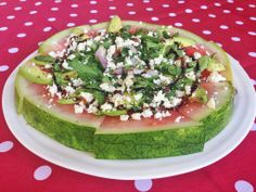 Watermelon Pizza perfect for Summer