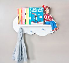 Cloud Wall Shelf- Space Saver. $62.50, via Etsy.