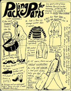 Paris packing tips ;)