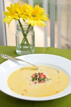 Recipe for Lobster Bisque.