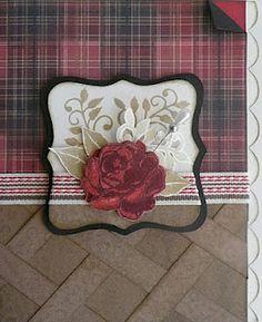 rose, greet card, gorgeous, roxi paper, ctmh card
