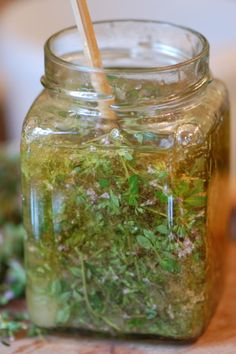 Herbal Infused Honey- aromatics like Thyme, Lemon balm, Chamomile, Mint, Scented rose petal, Lavender or Lime blossom work especially well. Herbal honeys can be eaten as a delicious food or they can be used medicinally, either taken internally or used externally.