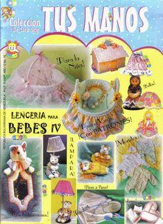 Revista de lenceria para bebe