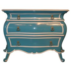 painted chest.