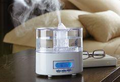 Alarm Clock Humidifier @ Sharper Image