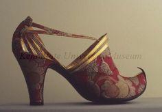 Shoes by Marouf Bottier, circa 1930, Paris