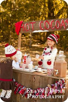 Warm and Cozy Hot Cocoa Party ~ Darling!
