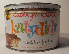 1960s Candy Tin