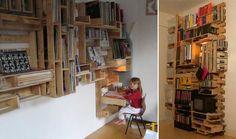 Uradować dziecko euro paletą – meble z palet dla dzieci