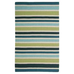 pretty striped rug