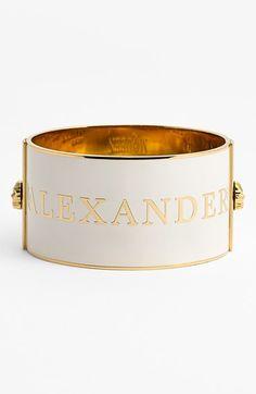 Alexander McQueen cuff.
