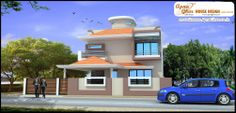 Modern Duplex House Design in 223m  Like, share, comment. click this link to view more details - http://www.apnaghar.co.in/search-results.aspx