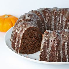 Chocolate Pumpkin Cake Recipe